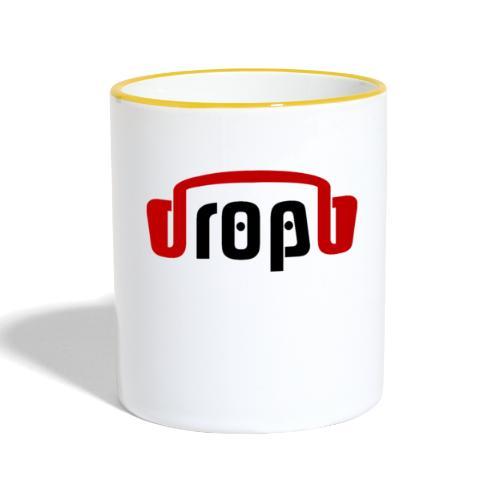 dropblayd Merch - Accessoire Design - Tasse zweifarbig
