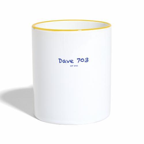 Dave 703 EST 2016 - Tasse zweifarbig