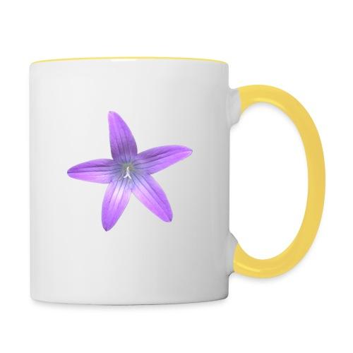 Purple flower - Taza en dos colores
