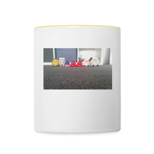 Squishys film merch - Contrasting Mug