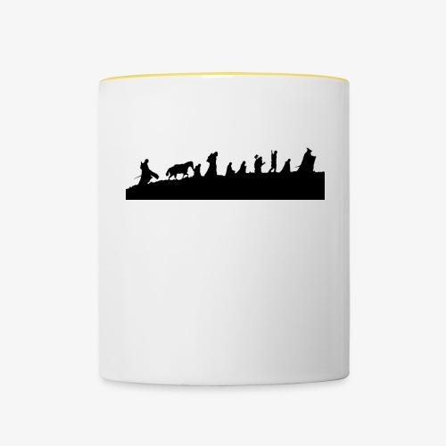 The Fellowship of the Ring - Contrasting Mug