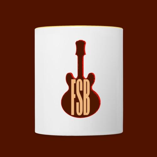 FSB Guitar Logo - Contrasting Mug