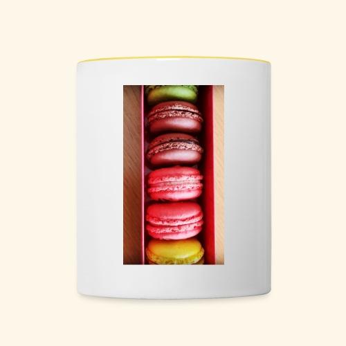 Macaron - Taza en dos colores