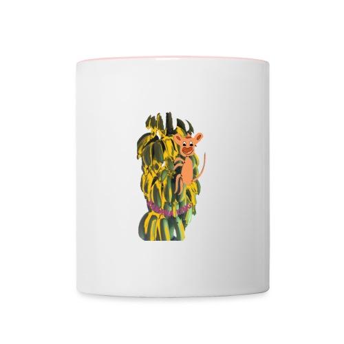 Bananas king - Contrasting Mug