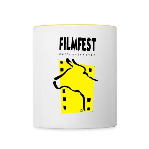 Filmfest Logo - Tasse zweifarbig