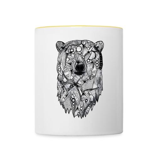 Isbjørn - Tofarget kopp