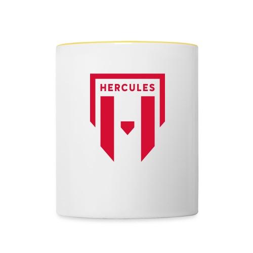 JS Hercules, new logo - Kaksivärinen muki