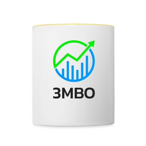 3MBO Logo - Tasse zweifarbig