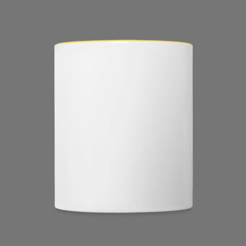 logoPAC-Blanc - Mug contrasté