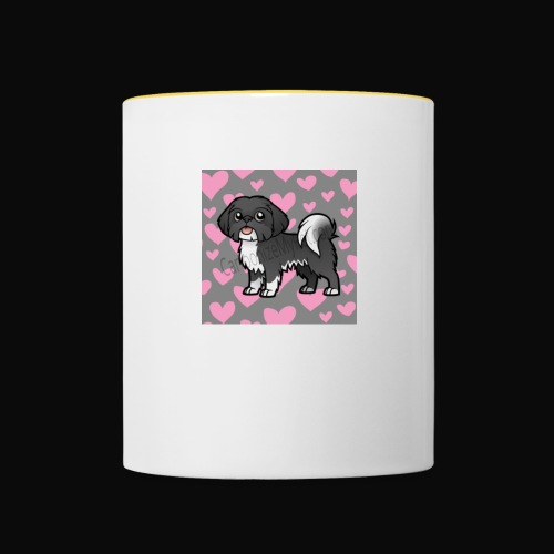 Cartoon Bobby on Accessories! Bobby Pooch Merch - Contrasting Mug
