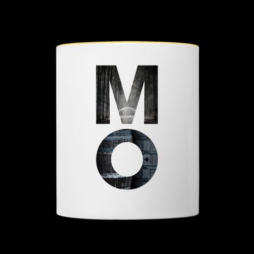 Moonshine Oversight - design épuré - Mug contrasté