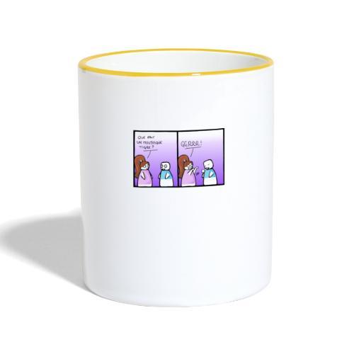 moustique tigre - Mug contrasté