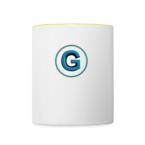 Gamernist Logo - Tasse zweifarbig