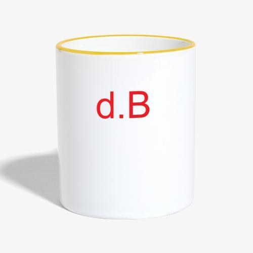 d.B RED - Tazze bicolor