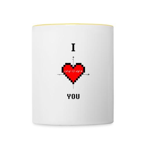 I LOVE YOU - Tazze bicolor