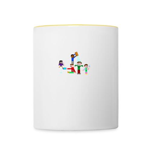 Water Fight - Contrasting Mug