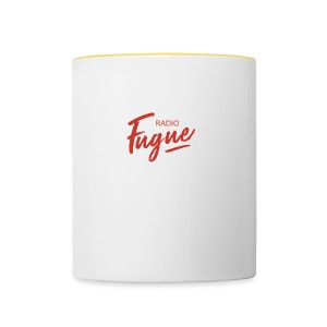 Radio Fugue Red - Tasse bicolore