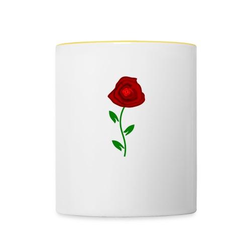 ROSEN 089 - Tasse zweifarbig