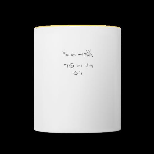 Tasse réconfortante - Mug contrasté