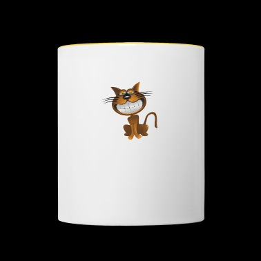 Cheshire Cat - Kubek dwukolorowy