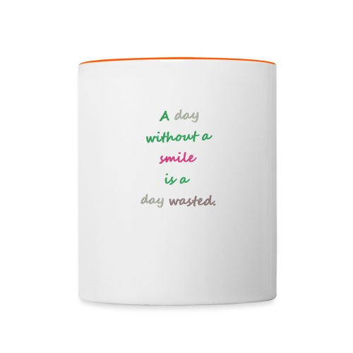 Say in English with effect - Contrasting Mug