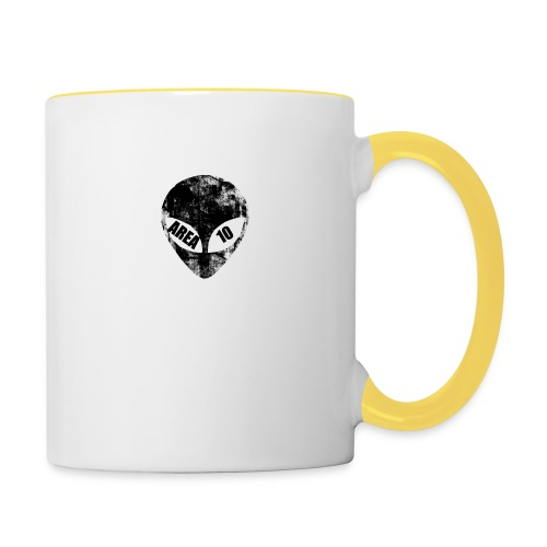 area 10 hoodie - Contrasting Mug