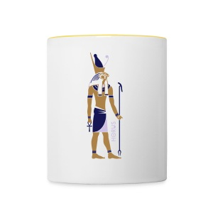 HORUS God of Egypt - Tasse zweifarbig