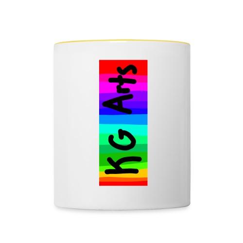 KG Arts Rainbow Banner - Contrasting Mug