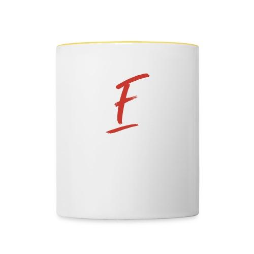 Radio Fugue F Rouge - Mug contrasté
