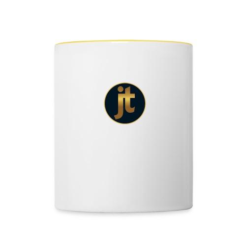 Golden jt logo - Contrasting Mug
