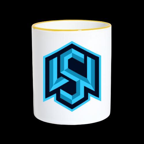 """Silent Wolves Inverted """"SW"""" Merchandise - Contrasting Mug"""