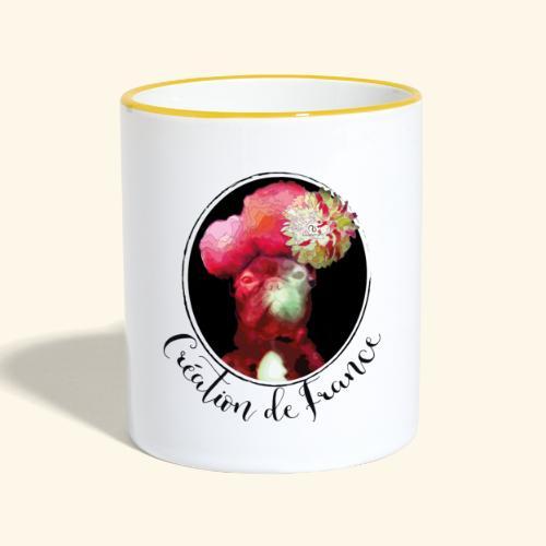 Création de France - Mug contrasté