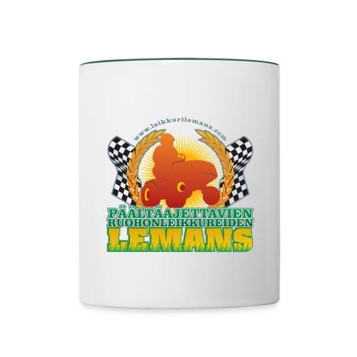 LeMans merkki spreadshirt - Contrasting Mug