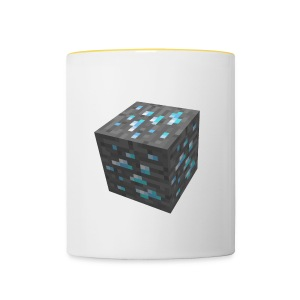 BLOCK DE DIAMANT MINECRAFT - Tasse bicolore