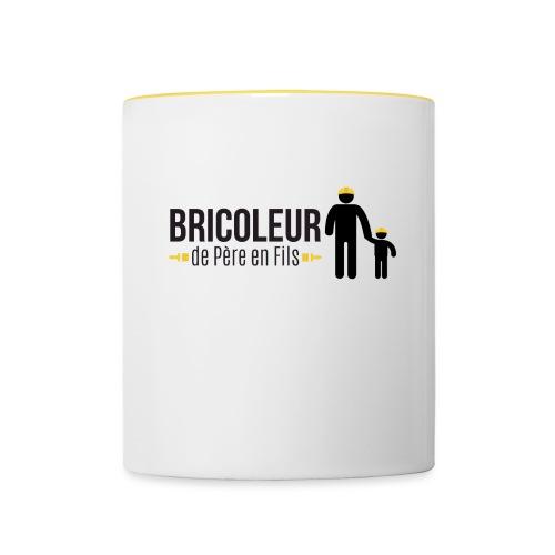 BRICOLEUR DE PERE EN FILS - Mug contrasté