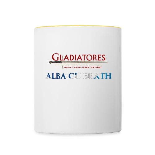 ALBAGUBRATH - Tasse zweifarbig