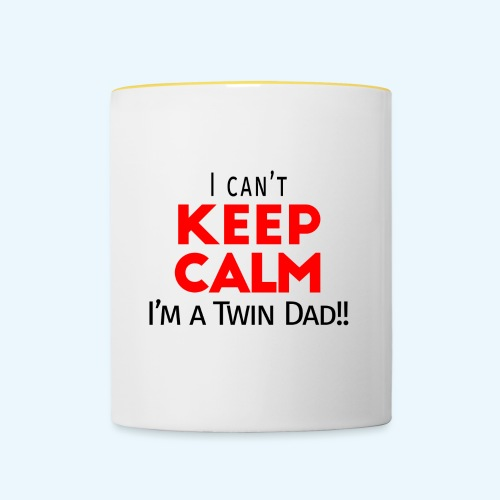 I Can't Keep Calm (Dad's Only!) - Mok tweekleurig