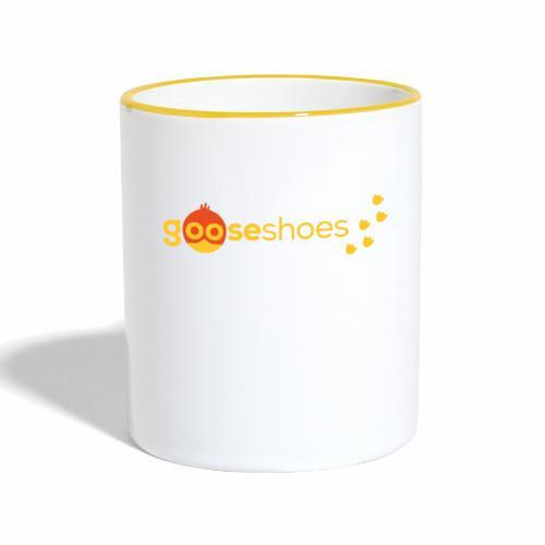 gooseshoes 01 - Tasse zweifarbig