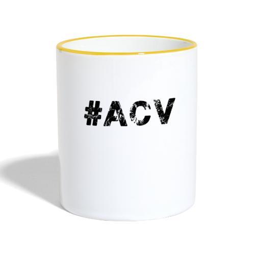 #ACV Logo - Tasse zweifarbig