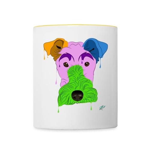 Fox Terrier - Tazze bicolor
