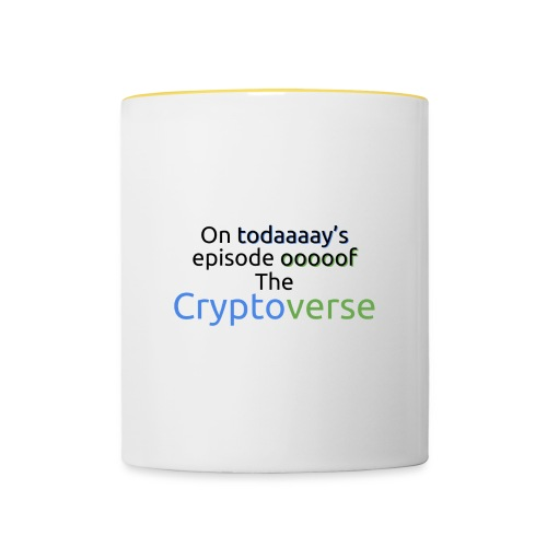 On Today's Episode Of The Cryptoverse - Contrasting Mug
