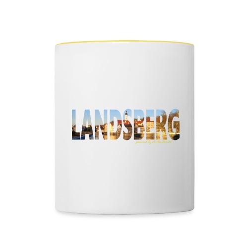 LL Love Kapuze - Tasse zweifarbig