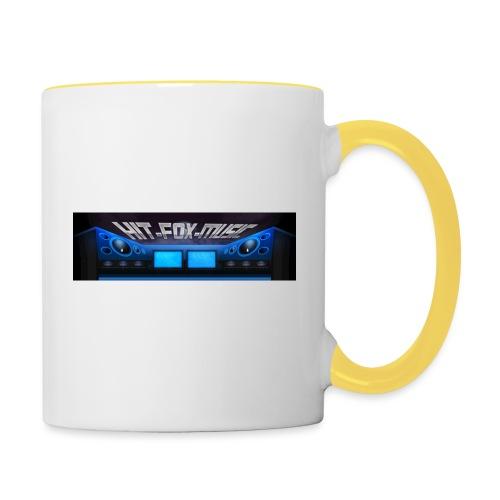 Hit-Fox-Music - Tasse zweifarbig