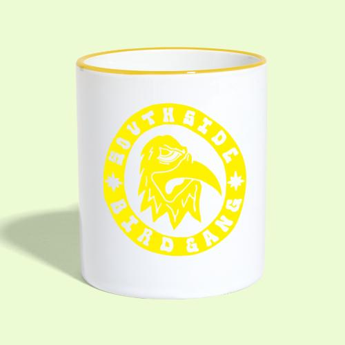 YELLOW EAGLE LOGO - Kaksivärinen muki