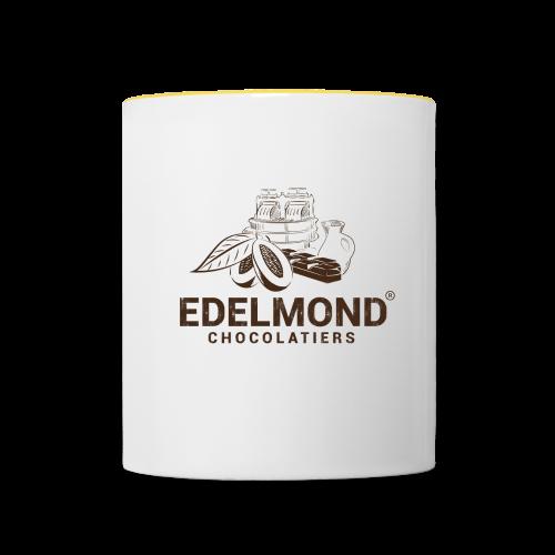 Edelmond Logo - Tasse zweifarbig