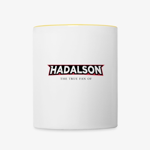 The True Fan Of Hadalson - Contrasting Mug