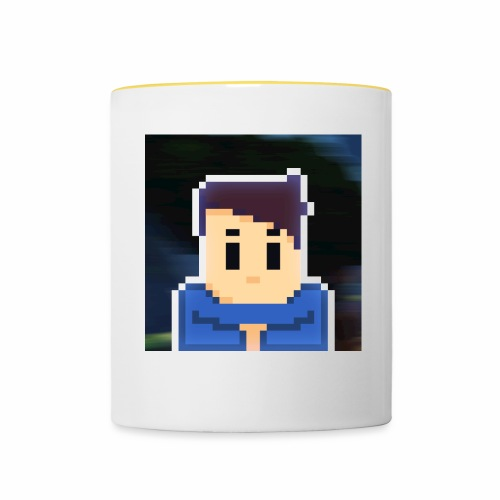 JoeWobbler Avatar with Background - Contrasting Mug