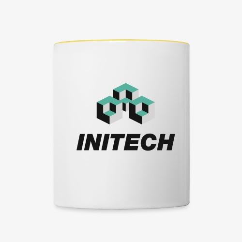 INITECH - Tasse zweifarbig