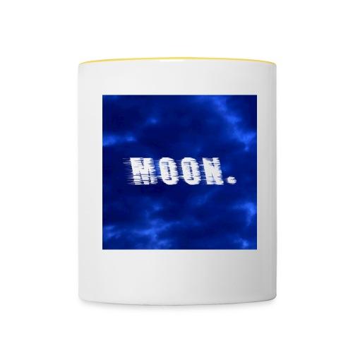 Moon by keddrayn - Tasse zweifarbig