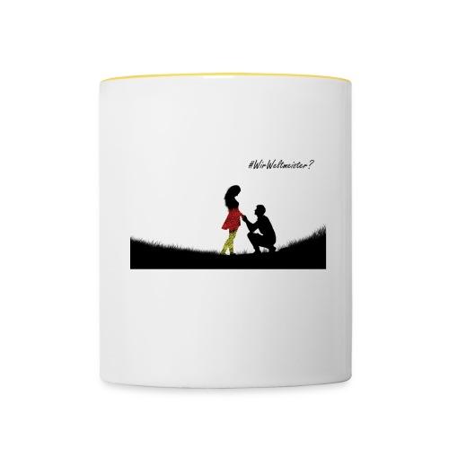 Married - Tasse zweifarbig